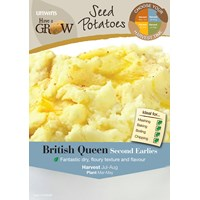 Unwins  British Queen Second Early Potato Seeds