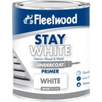 Fleetwood Stay White Primer Undercoat Paint - 2.5 Litre