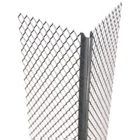 Catnic  Galvanised Micromesh Angle Bead Wide Wing
