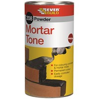 Everbuild  212 Powder Mortar Tone 1kg - Red