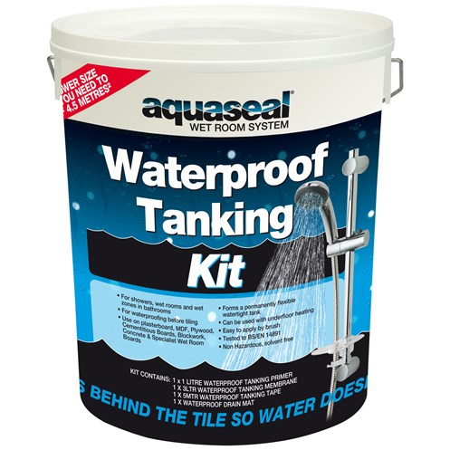 Everbuild Aquaseal Wet Room Tanking Kit - Standard