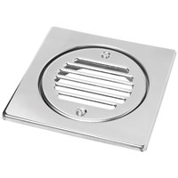 McAlpine  FGTOP6SS Square Stainless Steel Tile & Grid - 150mm