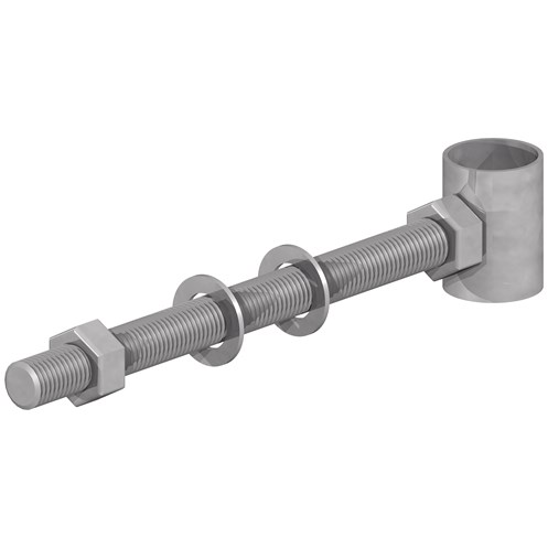 GateMate  300mm Top Gate Bolt Hangers 25 Pack - Galvanised