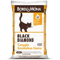 Bord na Móna Black Diamond Cosyglo Gems Coal - 40kg