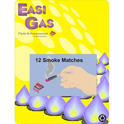 Easi Gas  Smoke Matches - Box of 12