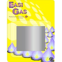Easi Gas  Closure Plate Tape - 10m x 50mm