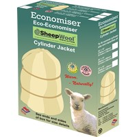 Economiser  Eco Sheep Wool Cylinder Jacket - 36 x 18in