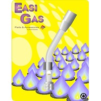 Easi Gas  Left Hand Thread Torch Head - 3/8in