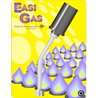 Easi Gas  Large Left Hand Thread Torch Head - 3/8in