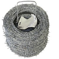 BAT Metalwork  High Tensile Roll Barbed Wire - 200m Roll