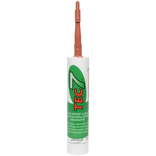 Tec 7  Glue, Mount & Seal Adhesive - Terracotta