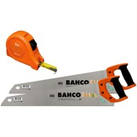 Bahco  Twin Saw Pack with 5M Measuring Tape